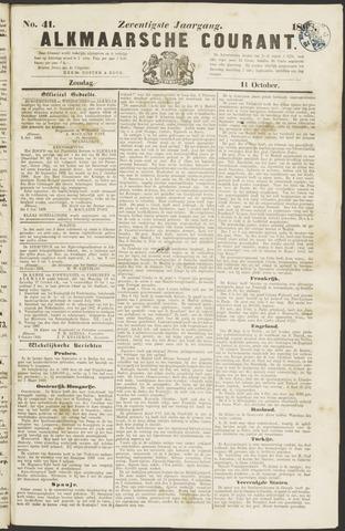 Alkmaarsche Courant 1868-10-11