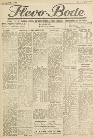Flevo-bode: nieuwsblad voor Wieringen-Wieringermeer 1948-03-27