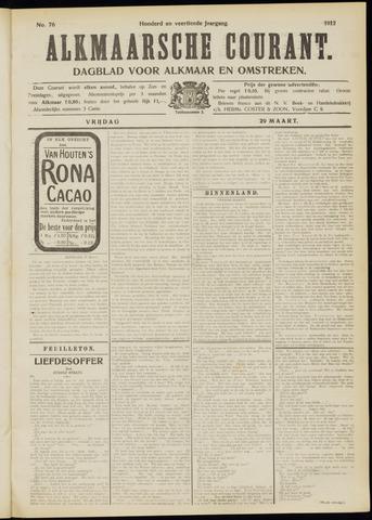Alkmaarsche Courant 1912-03-29