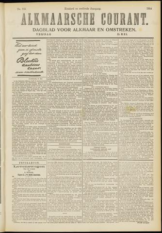 Alkmaarsche Courant 1914-05-15