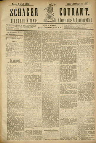 Schager Courant 1895-06-09