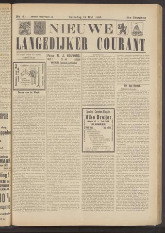 Nieuwe Langedijker Courant 1926-05-29