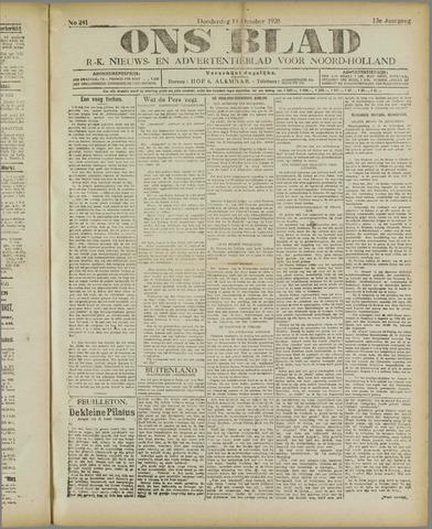 Ons Blad : katholiek nieuwsblad voor N-H 1920-10-14