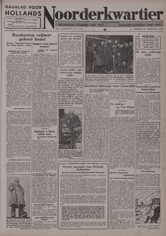 Dagblad voor Hollands Noorderkwartier 1942-02-27