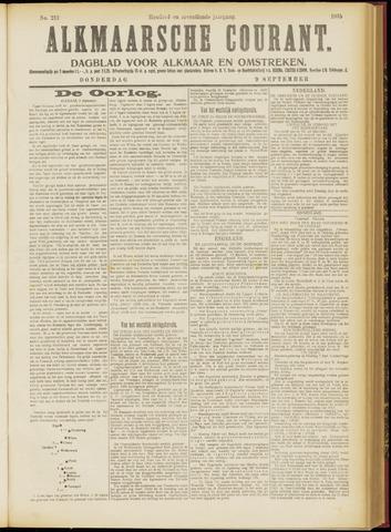Alkmaarsche Courant 1915-09-09
