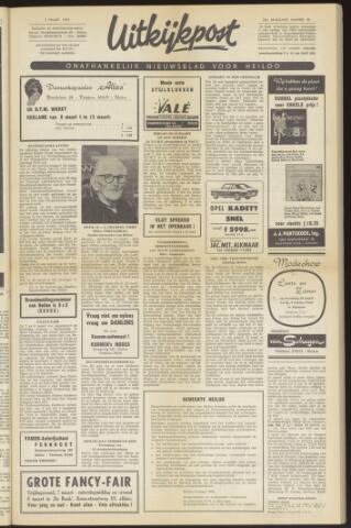 Uitkijkpost : nieuwsblad voor Heiloo e.o. 1969-03-05