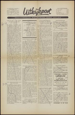 Uitkijkpost : nieuwsblad voor Heiloo e.o. 1956-10-19