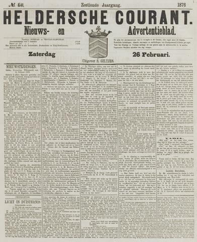 Heldersche Courant 1876-02-26