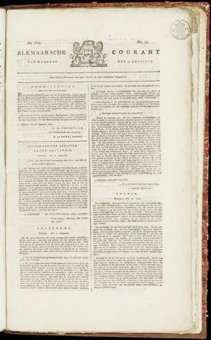 Alkmaarsche Courant 1822-08-19