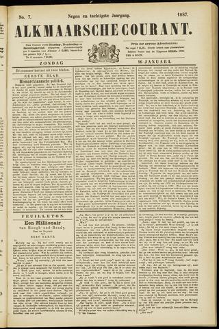 Alkmaarsche Courant 1887-01-16