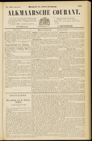 Alkmaarsche Courant 1899-09-03