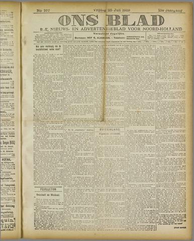 Ons Blad : katholiek nieuwsblad voor N-H 1919-07-25
