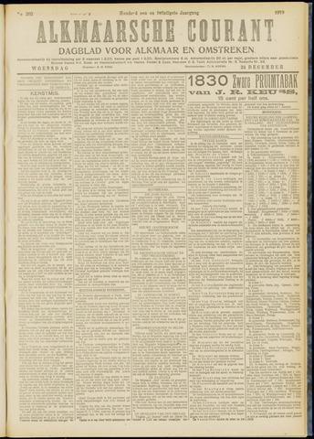 Alkmaarsche Courant 1919-12-24