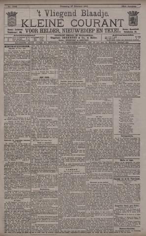 Vliegend blaadje : nieuws- en advertentiebode voor Den Helder 1895-02-27