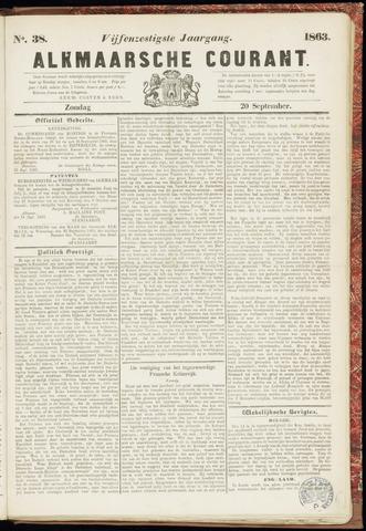 Alkmaarsche Courant 1863-09-20