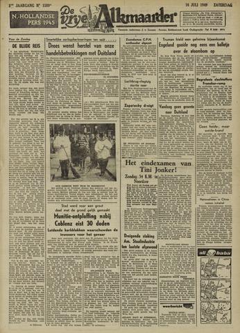 De Vrije Alkmaarder 1949-07-16