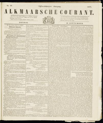 Alkmaarsche Courant 1873-09-28