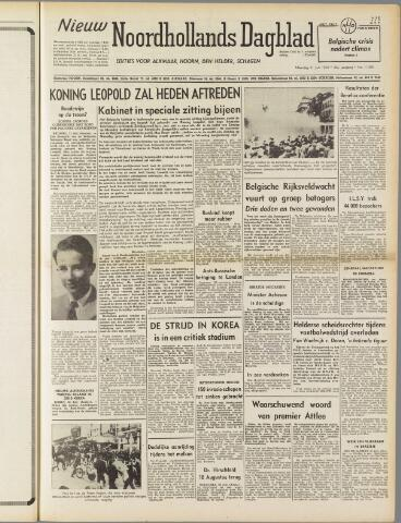 Nieuw Noordhollandsch Dagblad : voor Alkmaar en omgeving 1950-07-31