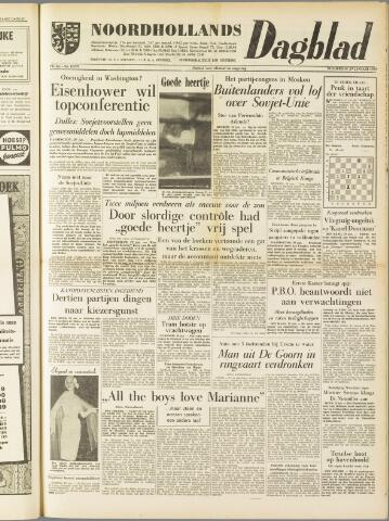 Noordhollands Dagblad : dagblad voor Alkmaar en omgeving 1959-01-29