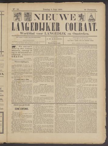 Nieuwe Langedijker Courant 1895-06-09