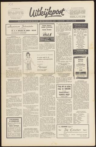 Uitkijkpost : nieuwsblad voor Heiloo e.o. 1966-10-20
