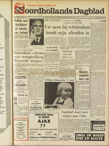 Noordhollands Dagblad : dagblad voor Alkmaar en omgeving 1969-04-26