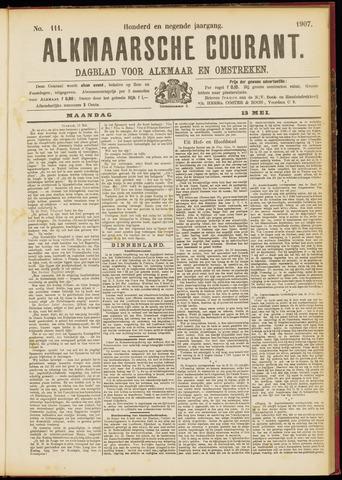 Alkmaarsche Courant 1907-05-13