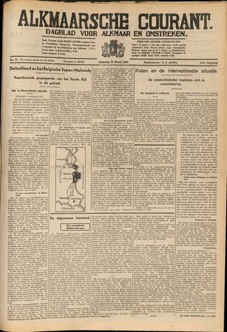 Alkmaarsche Courant 1939-03-25