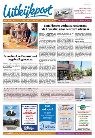 Uitkijkpost : nieuwsblad voor Heiloo e.o. 2017-10-04