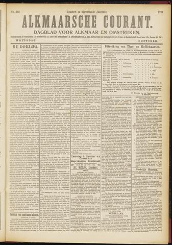 Alkmaarsche Courant 1917-10-03
