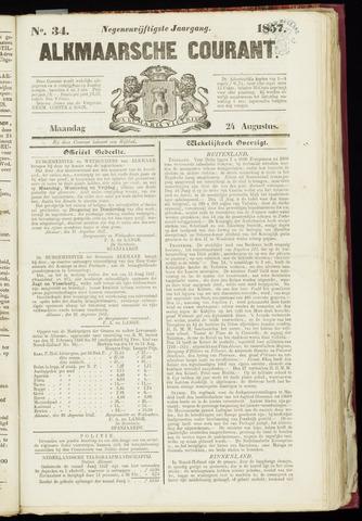 Alkmaarsche Courant 1857-08-24