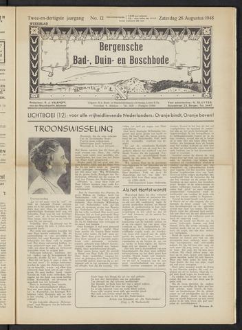 Bergensche bad-, duin- en boschbode 1948-08-28