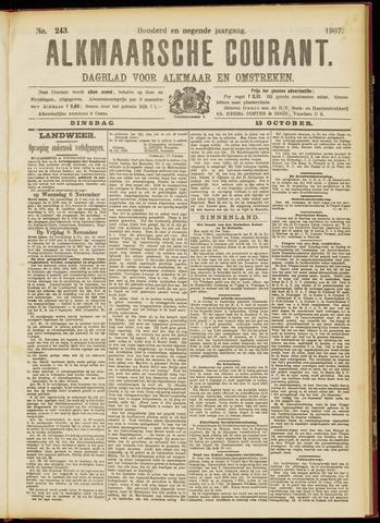 Alkmaarsche Courant 1907-10-15