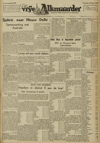De Vrije Alkmaarder 1947-03-31