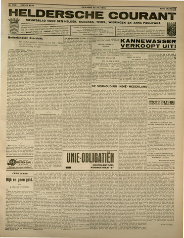 Heldersche Courant 1932-07-23