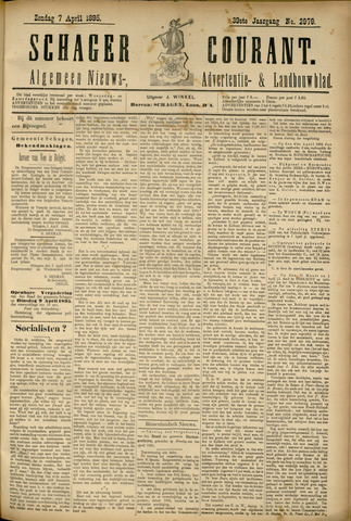 Schager Courant 1895-04-07