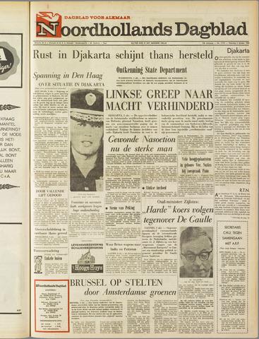 Noordhollands Dagblad : dagblad voor Alkmaar en omgeving 1965-10-02