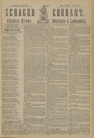 Schager Courant 1911-06-17