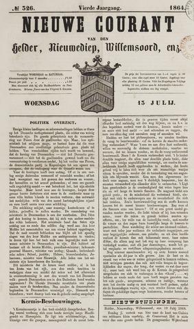Nieuwe Courant van Den Helder 1864-07-13