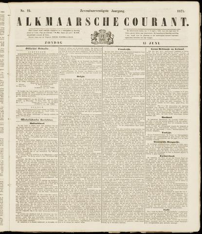 Alkmaarsche Courant 1875-06-13