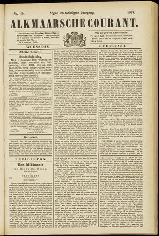 Alkmaarsche Courant 1887-02-02