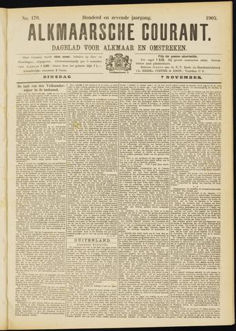 Alkmaarsche Courant 1905-11-07