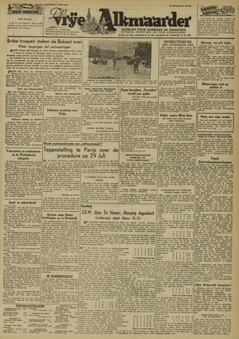 De Vrije Alkmaarder 1946-07-08