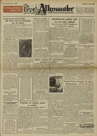 De Vrije Alkmaarder 1948-05-21