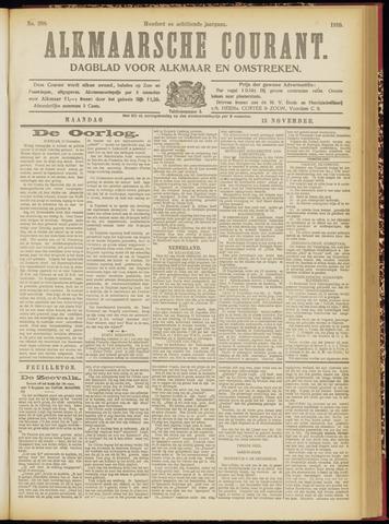 Alkmaarsche Courant 1916-11-13