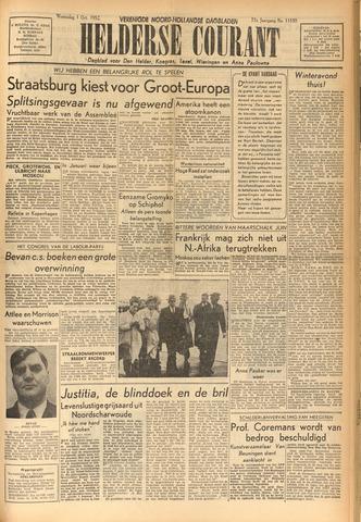 Heldersche Courant 1952-10-01