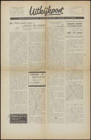 Uitkijkpost : nieuwsblad voor Heiloo e.o. 1956-11-02
