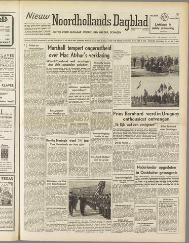 Nieuw Noordhollandsch Dagblad : voor Alkmaar en omgeving 1951-03-28