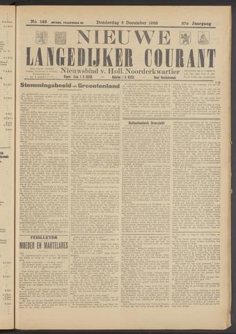 Nieuwe Langedijker Courant 1928-12-06