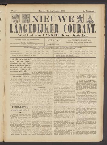 Nieuwe Langedijker Courant 1893-09-24